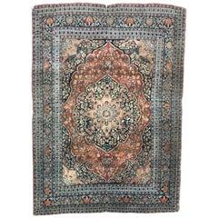 Antique Persian Tabriz Haj Jalili Rug 19th Century Persia Rugs Antique Carpets