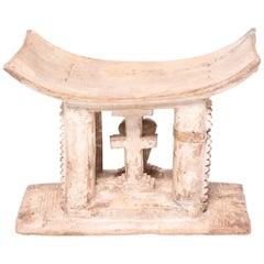 Early 20th Century Ghanaian Ashanti Symbolic Stool