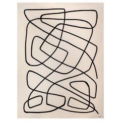 """Seek"", Contemporary Acrylic on Canvas"