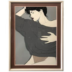 Limited Edition Serigraph by Patrick Nagel
