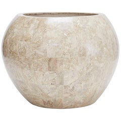 """Tessellated Cantor Stone """"Bombay"""" Planter, 1990s"""