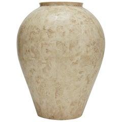 Tessellated Cantor Stone Mango Jar, 1990s