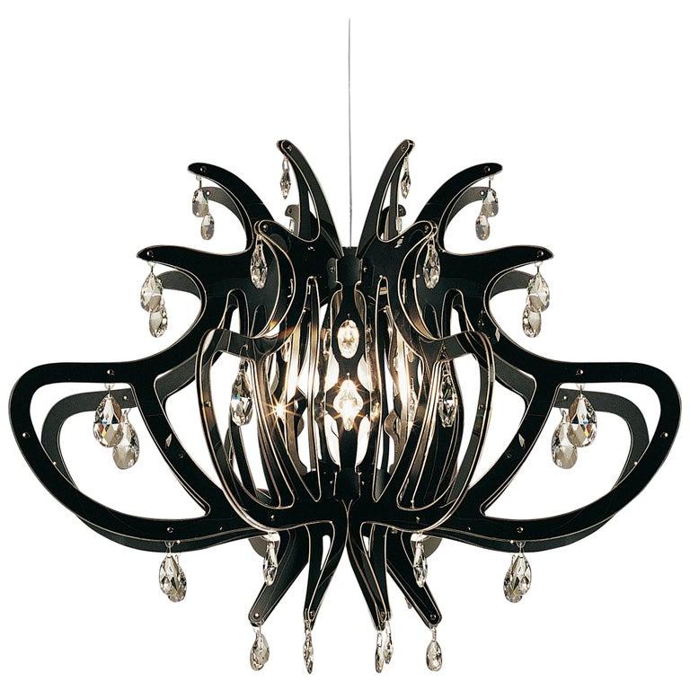 Slamp medusa pendant light in black by nigel coates for sale at 1stdibs slamp medusa pendant light in black by nigel coates for sale aloadofball Images