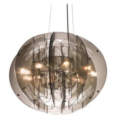 SLAMP Atlante Pendant Light in Fumé by Nigel Coates