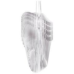 Slamp Avia Extra Large Pendant Light in White by Zaha Hadid