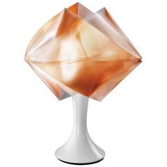 Slamp Gemmy Prisma Table Light in Amber by Spalletta, Croce, Ragnisco & Wijffels