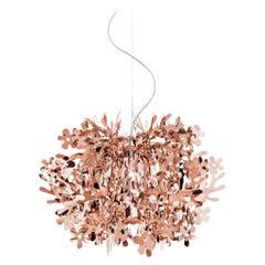 Slamp Fiorella Mini Pendant Light in Copper by Nigel Coates