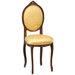 Italian Walnut Petit Chair, circa 1910