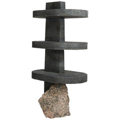 Sculpted Side Table 'Human Element I' Collin Velkoff