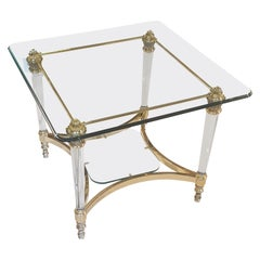 Small Glass Table from a German Manufactury