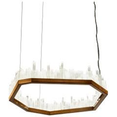 Downtown, White Quartz Pendant Lamp