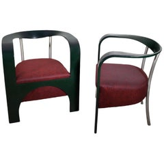 Armchairs by Giugario Design, Italy, 1980s