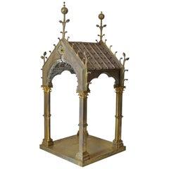 French Gothic Revival Religious Artifact, circa 1880s
