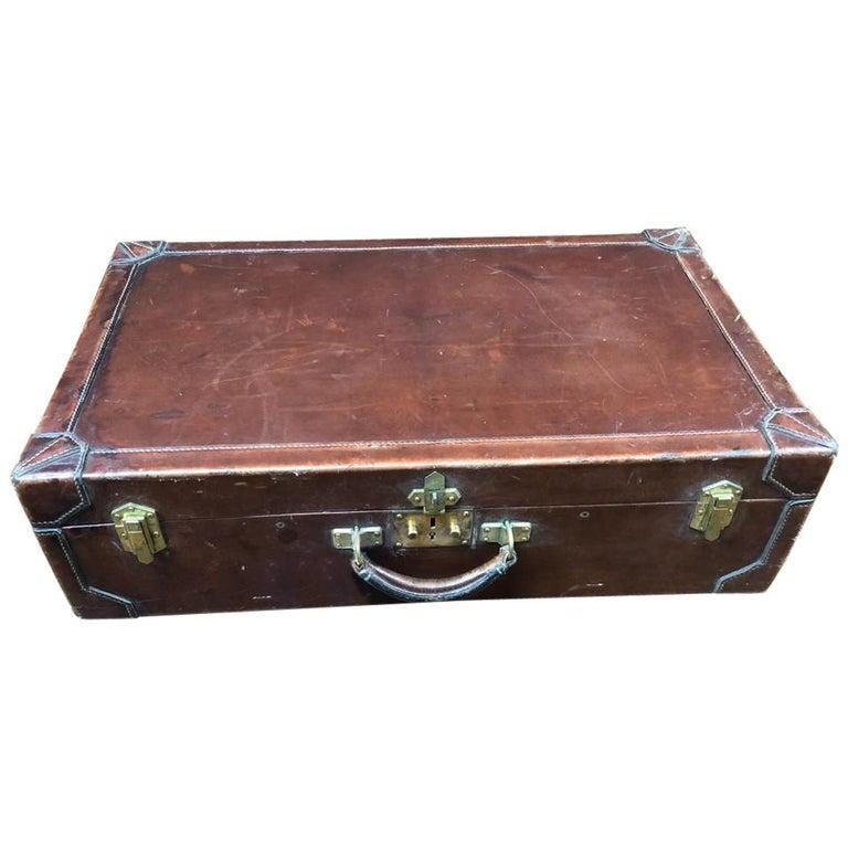 Hermès Leather Suitcase