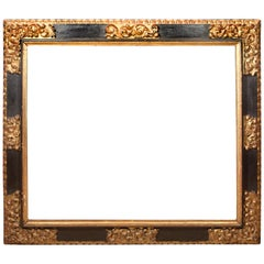 Frame. Polychromed Wood. Baroque, 17th Century