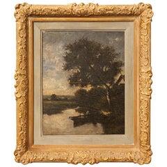 Jules Dupré, Oil on Wood