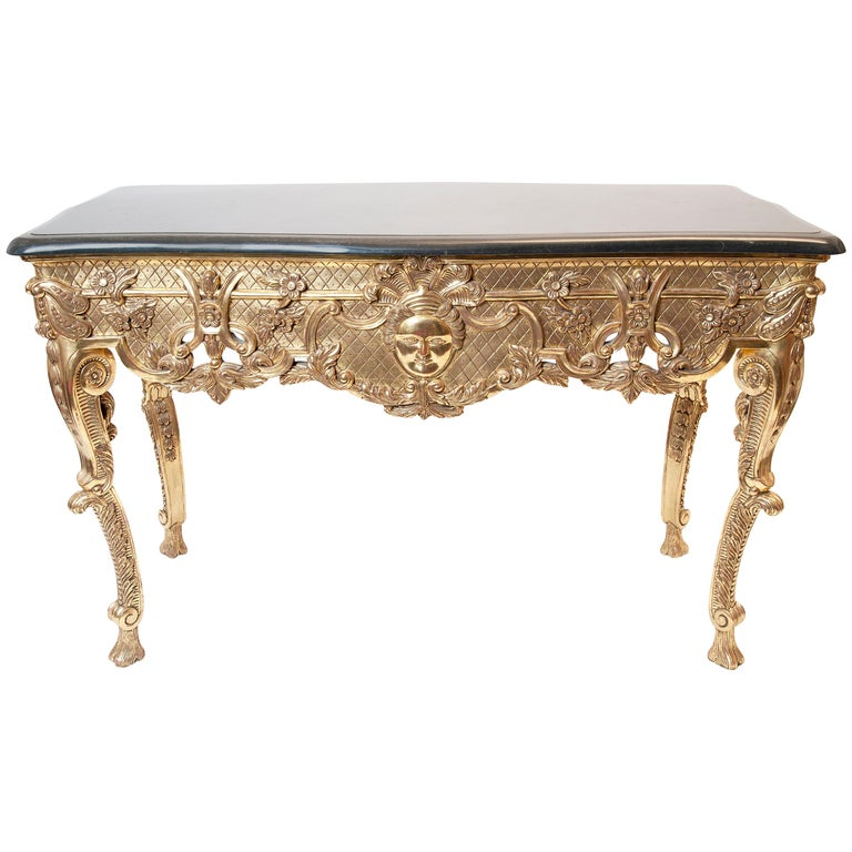 Center Table with Marble Top