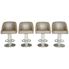 Four Designs for Leisure Bar Stools