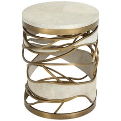 Shagreen Stool Offered by Area ID