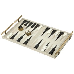 Shagreen Backgammon Game Offered by Area ID