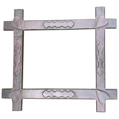 Frame with Hearts and Crosses