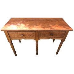 Bird's-Eye Maple Sideboard
