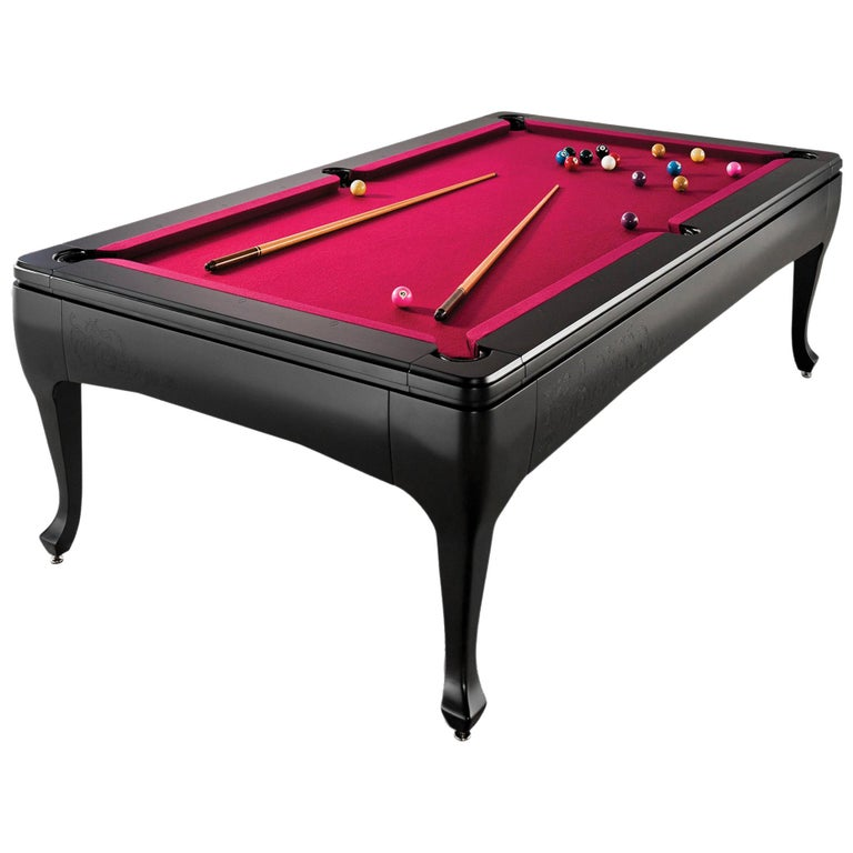 Milan Luxury Pool Table In Lacquer By Larissa Batista For Sale At - Luxury billiards table