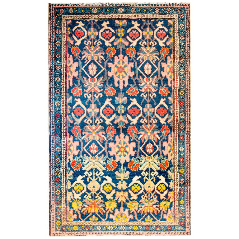 Amazing Early 20th Century Antique Malayer Rug