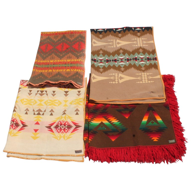 Pendleton Blanket Collection, Group of Four For Sale