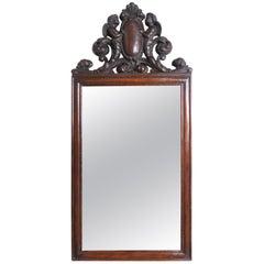 19th Century English Cherub Mirror
