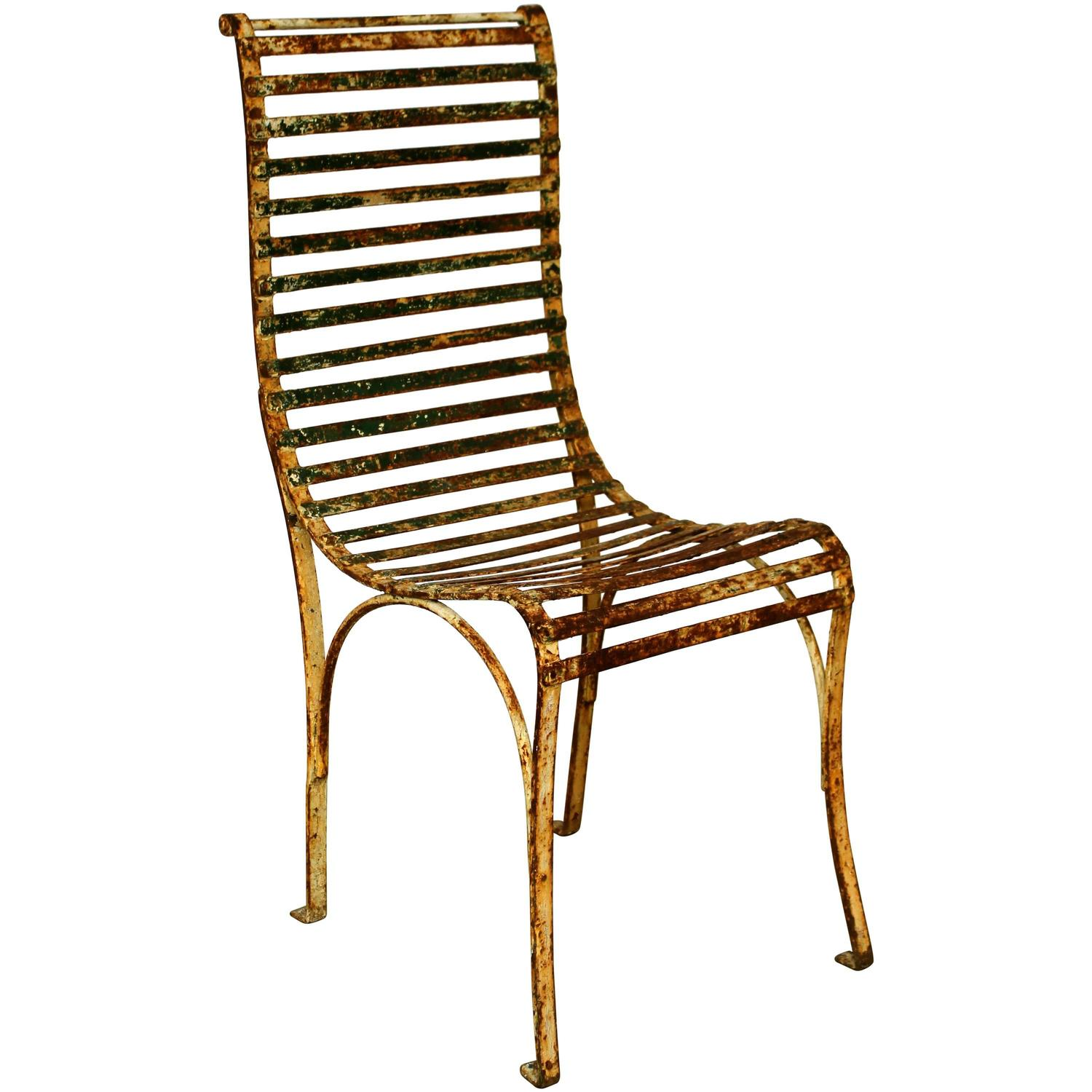 single french garden chair for sale at 1stdibs
