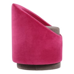 Paradiso Terrestre All Around Chair in Pink Velvet by Pierre Gonalons
