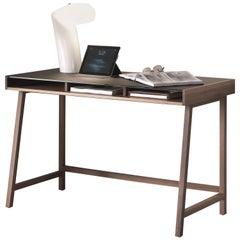Pacini & Cappellini Abaco Writing Desk in Walnut by Fabio Rebosio