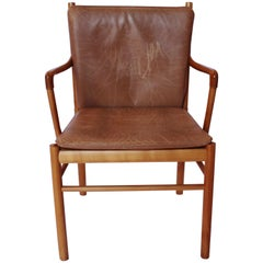 Armchair in Mahogany, model PJ-301 Designed by Ole Wanscher, 1960s
