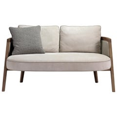 Pacini & Cappellini Cocoon Sofa in Cream by Giuliano & Gabriele Cappellettii