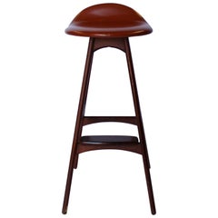 Bar Stool, Model OD61, Designed by Erik Buch, 1960s