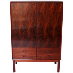 Large Cabinet in Rosewood of Danish Design and Manufactured by Brouer, 1960s