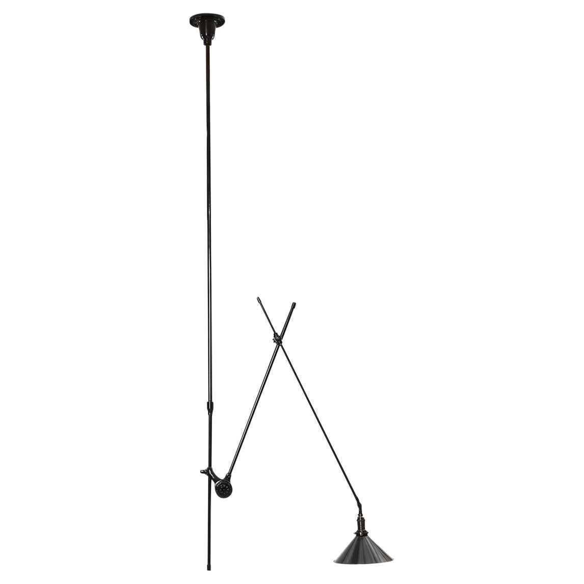 Articulating Industrial Ceiling Lamp by O.C. White