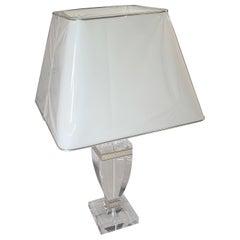Small High Gloss Glass Lamp