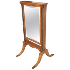 Large Empire Style Standing Mirror
