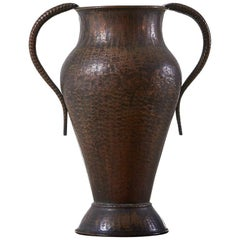 1960s Decorative Copper Vase