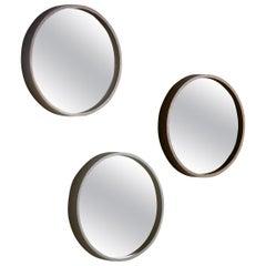 Pacini & Cappellini Oblo Mirror in Lacquered Wood by Studio Controdesign