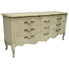 John Widdicomb French Provincial Louis XV Style Hollywood Regency Triple Dresser