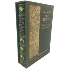 Salmon and Trout by Dean Sage and Others, First Edition, 1902