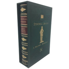 Stonewall Jackson a Military Biography by John E. Cooke, Special Edition, 1876