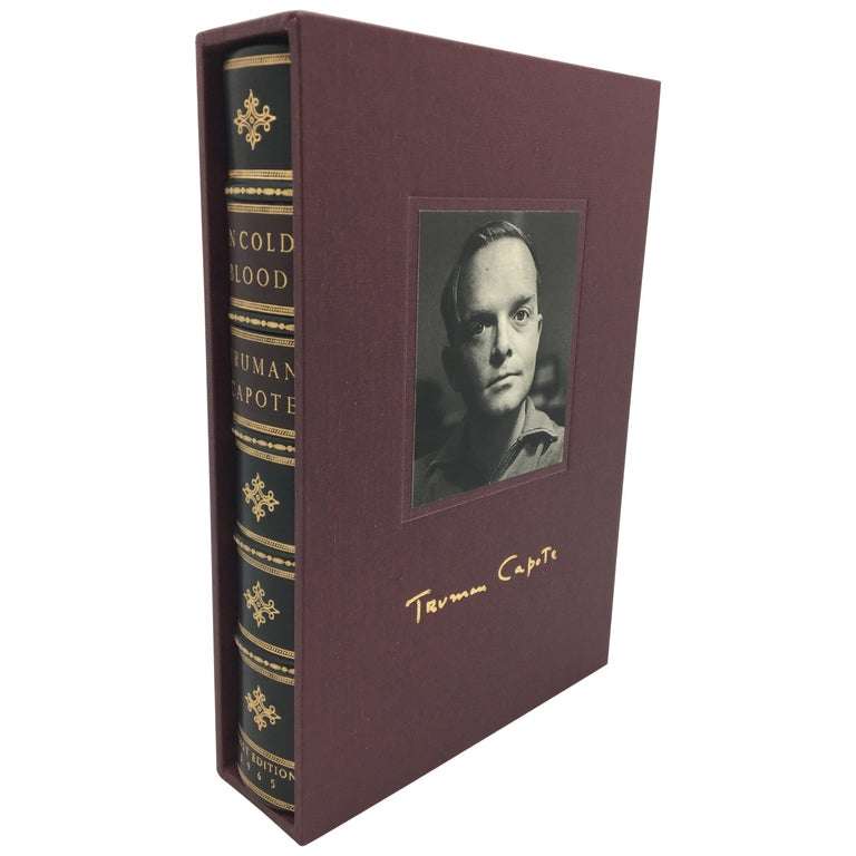 In Cold Blood by Truman Capote, First Edition, First Printing, 1965