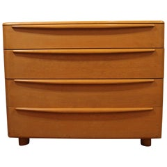 Mid-Century Modern Heywood Wakefield Encore Champagne Bachelor Chest
