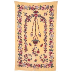 Anatolian Turkish Early 20th Century Hand Block Printed Textile