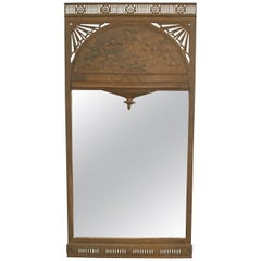 English Arts & Craft Iron Mirror