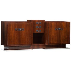 Art Deco Rosewood French Sideboard
